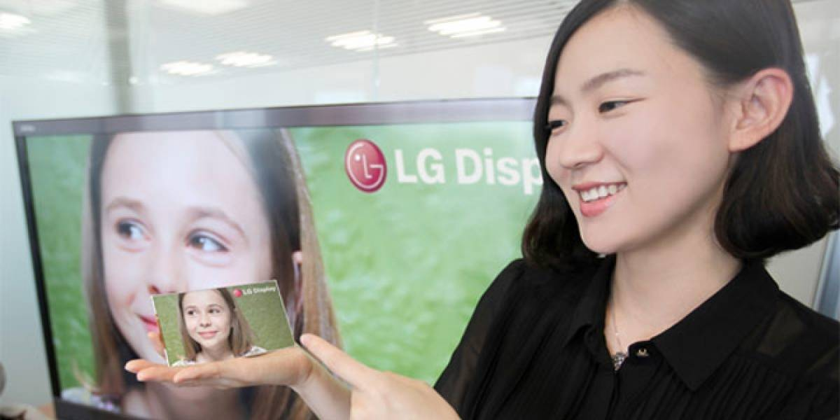"""LG estrena pantalla de 5"""" con resolución Full HD de 1920x1080"""