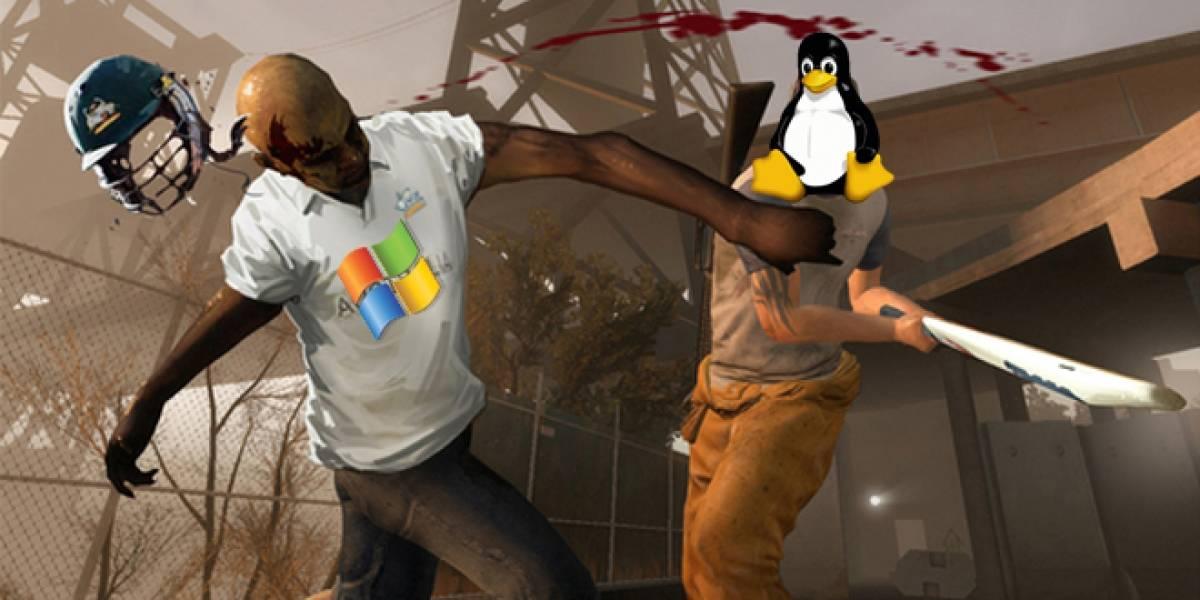 ¡Y olé! El juego Left 4 Dead 2 corre más rápido en Linux que en Windows