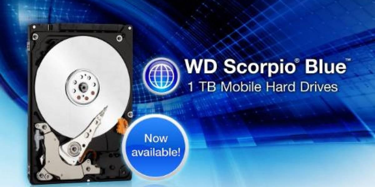 Western Digital anuncia Scorpio Blue: disco duro de 9.5 mm y 1 TB