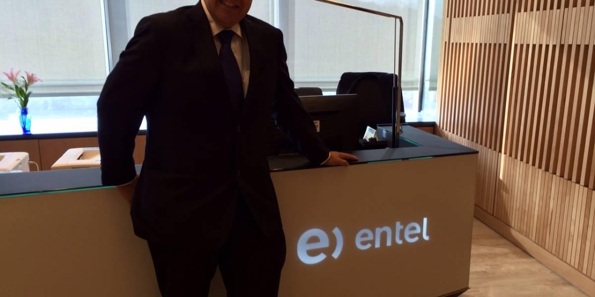 """Manuel Araya, Gerente de Asuntos Corporativos de Entel: """"El servicio 4G descongestionará las redes 3G"""""""