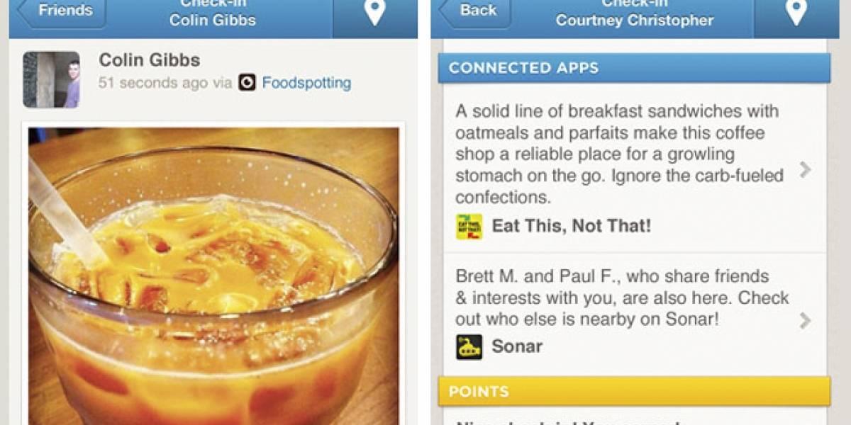 """Foursquare llama a más desarrolladores abriendo su """"Connected Apps Platform"""""""