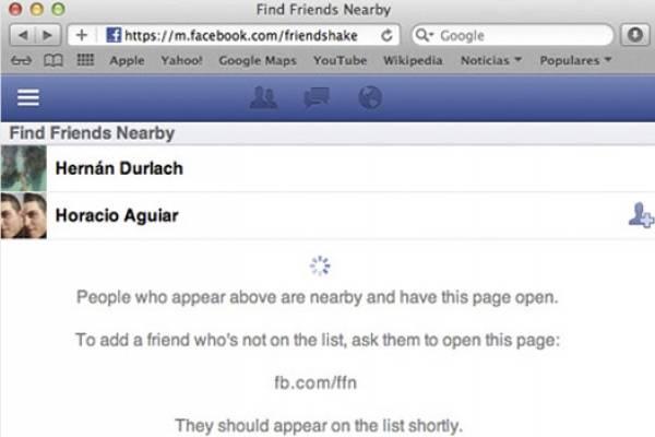 006529926 Facebook crea nueva función para encontrar amigos y personas cerca de  nosotros