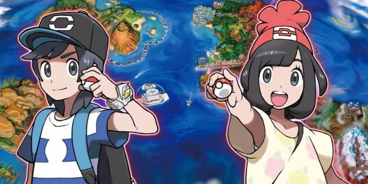 Pokémon Sun y Moon son los juegos más reservados en la historia de Nintendo