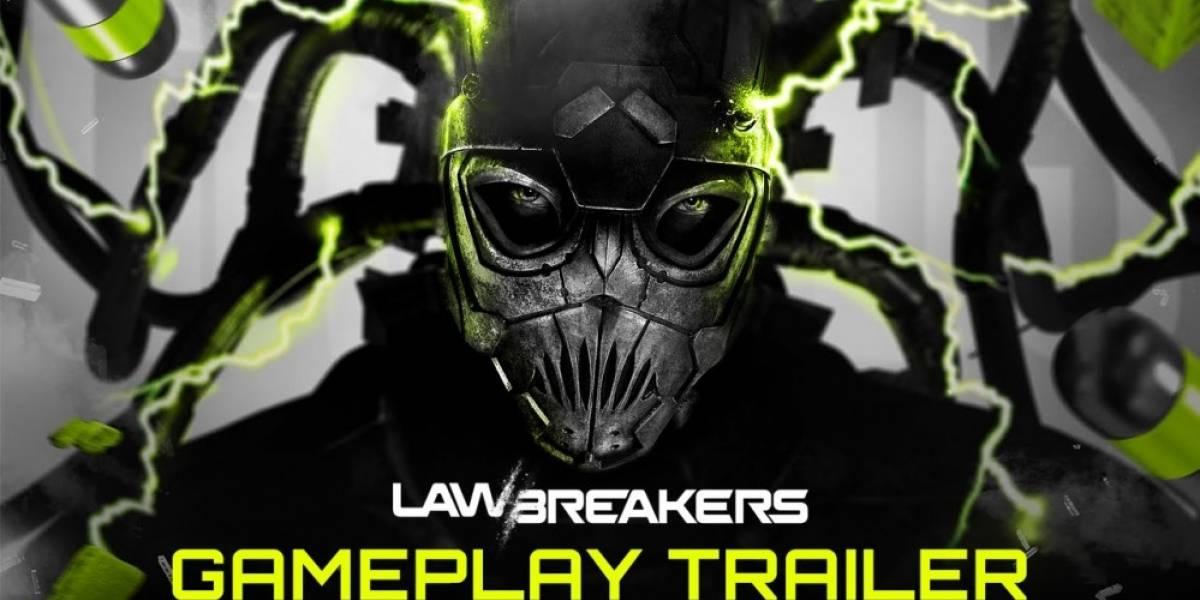 LawBreakers recibe frenético tráiler de jugabilidad