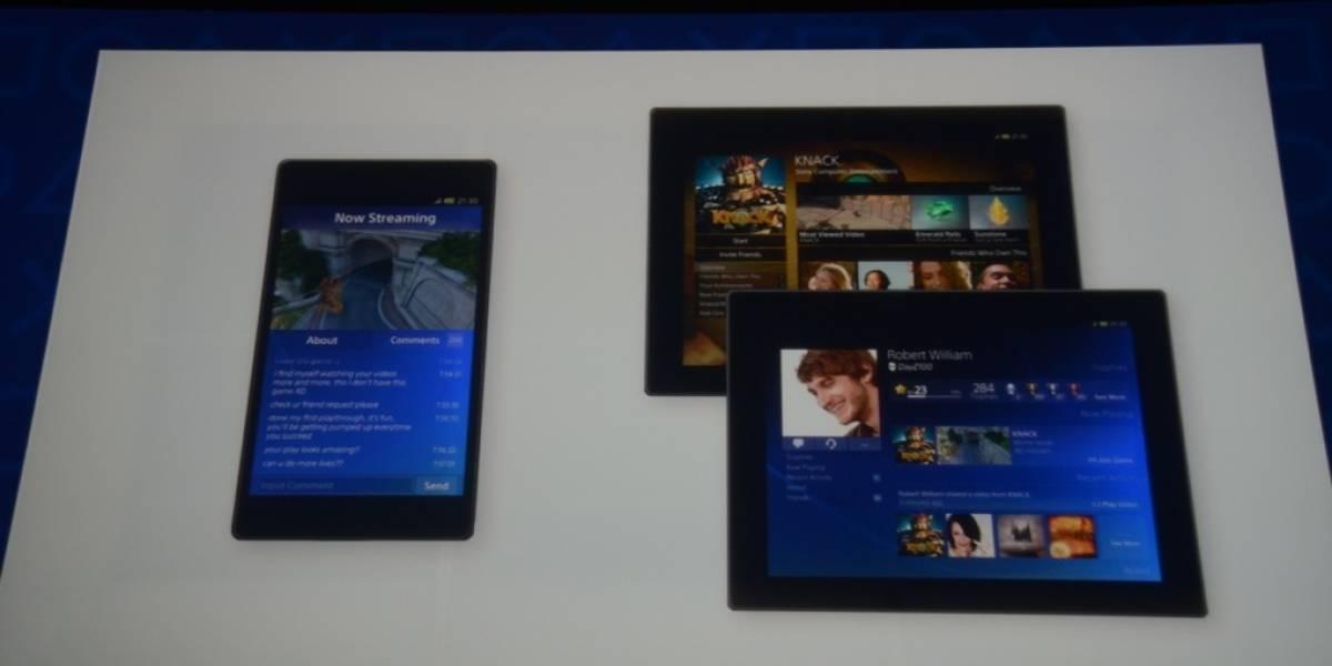 La PlayStation 4 incluirá en la experiencia de juegos a tablets y smartphones