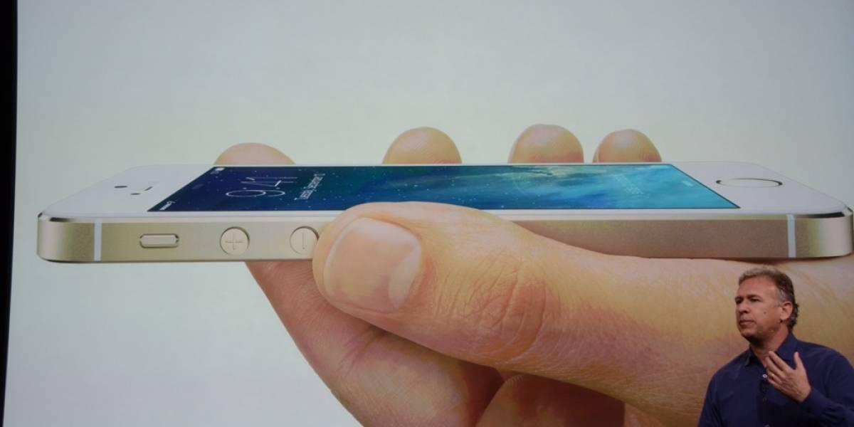Apple lanza el iPhone 5S, su nuevo gama alta