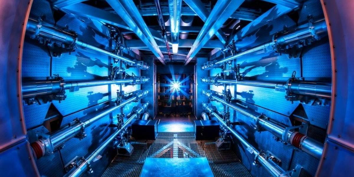 Láser rompe marca de los 500 trillones de watts