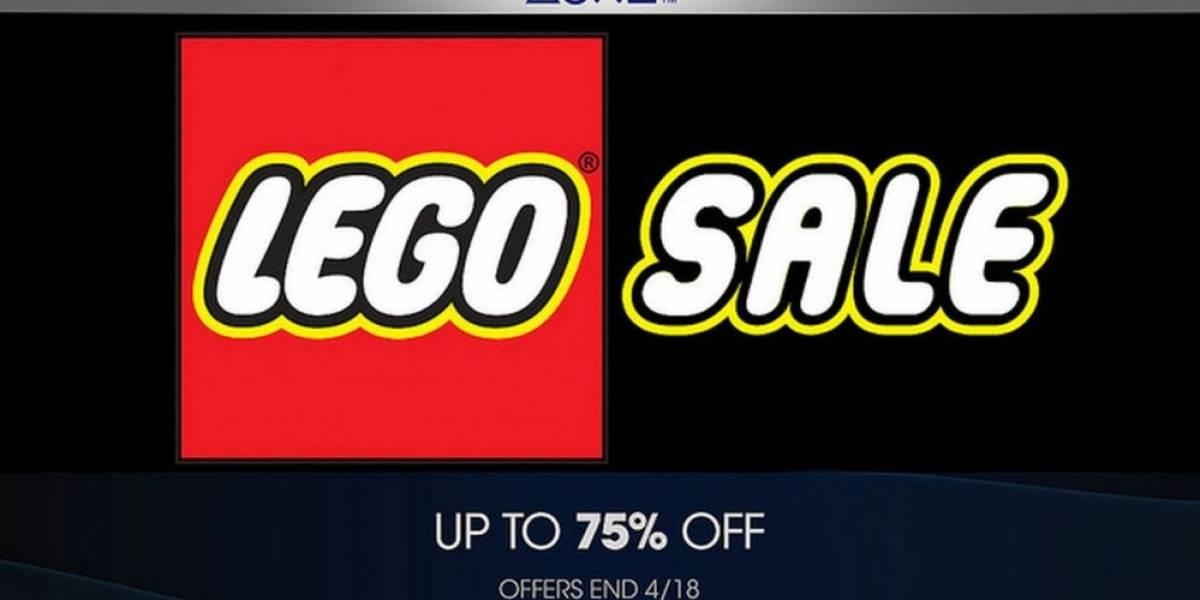 Venta especial de LEGO en PlayStation Store