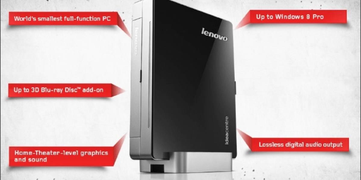Lenovo anuncia nuevos todo-en-uno y la PC más pequeña del mundo