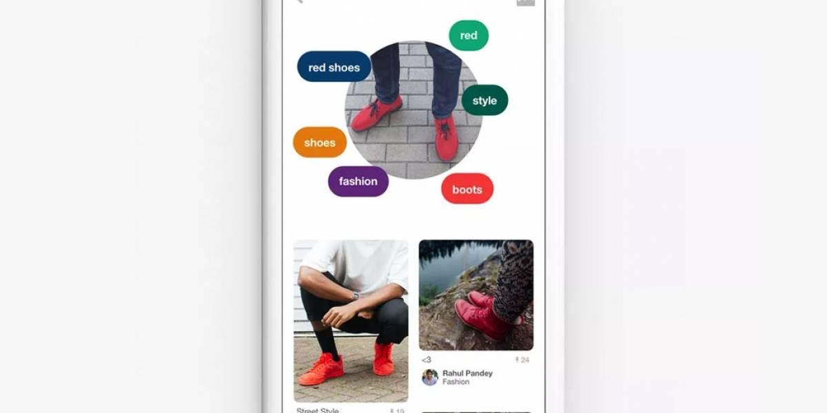 Pinterest lanza Lens, el Shazam de los objetos