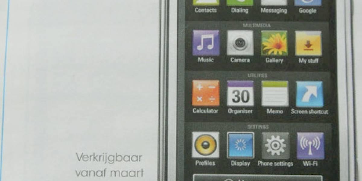 Se filtra imagen del Arena, el nuevo touchscreen de LG