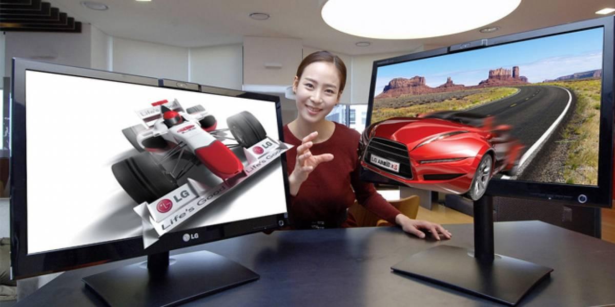 LG presenta monitor 3D estereoscópico sin anteojos
