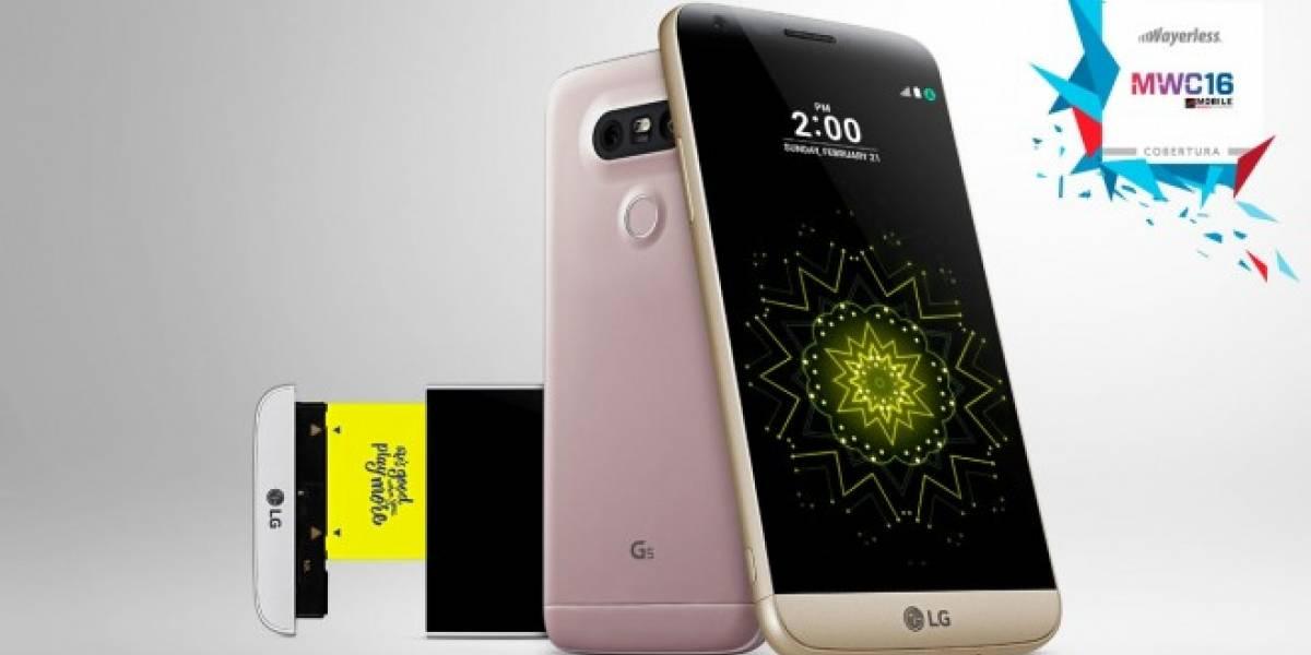 LG anuncia el G5, su primer smartphone modular #MWC16