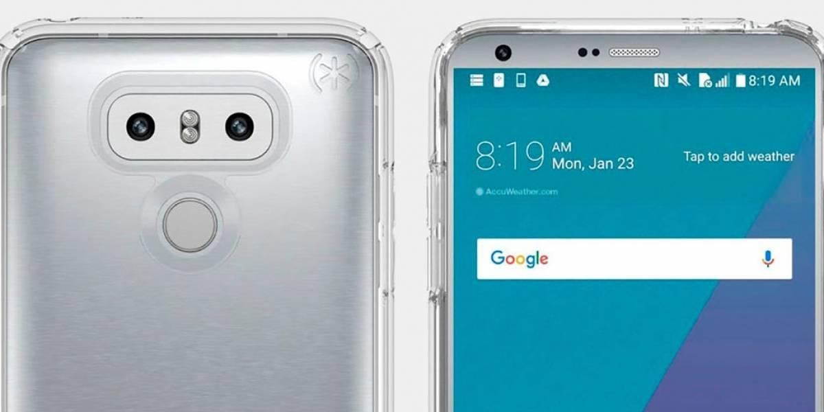 Video muestra nueva función de fotos cuadradas para el LG G6