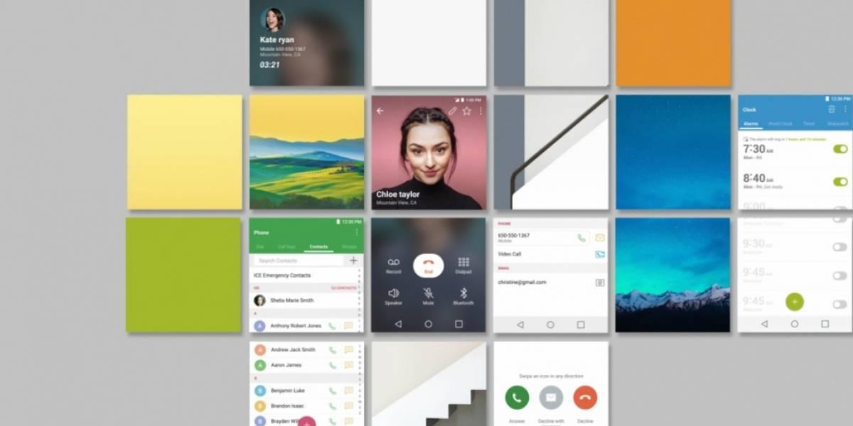 LG revela en video la nueva interfaz UX 6 del LG G6