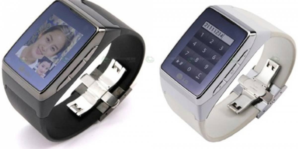 Futurología: El teléfono-reloj de LG costará USD$1.500