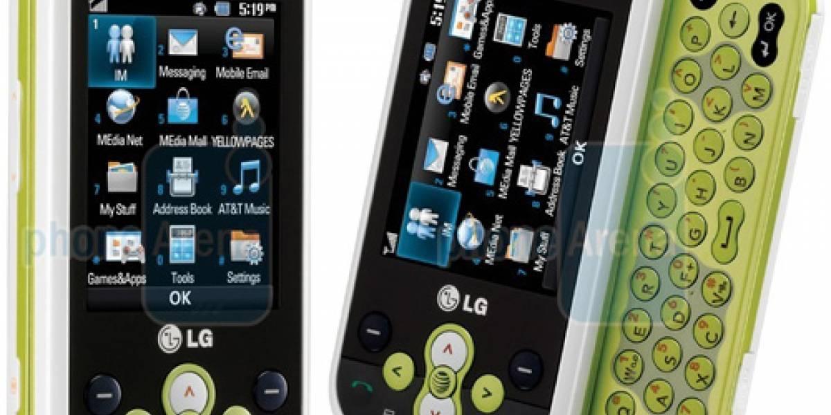 LG Neon: Ideado para los mensajes