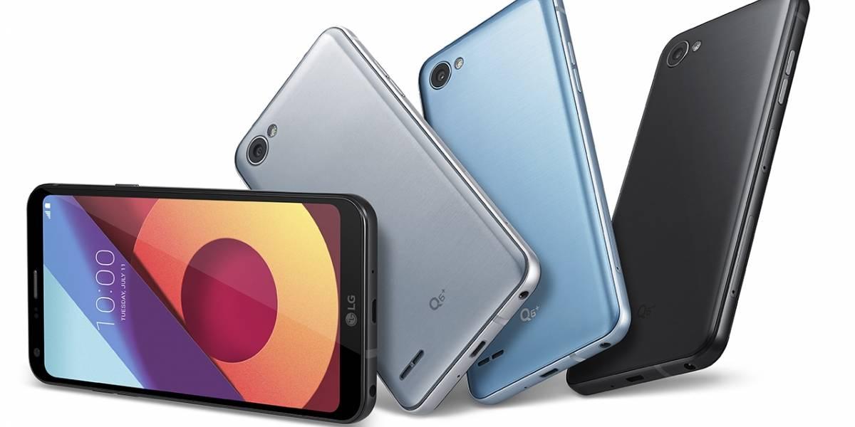 LG hace oficial el LG Q6, LG Q6+ y LG Q6a