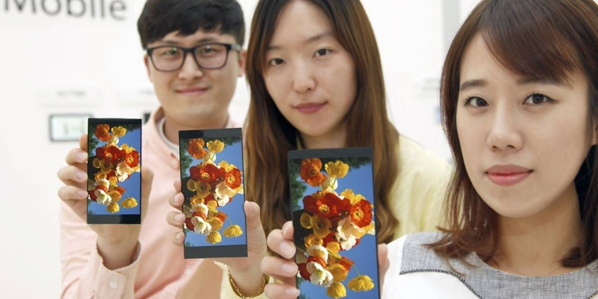 "LG revela pantalla QHD de 5.5"" que posiblemente se utilizará en el LG G4"