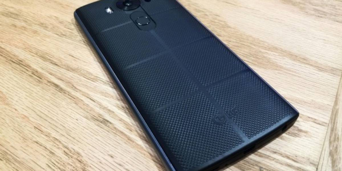 LG confirma que lanzará el V20 con Android Nougat