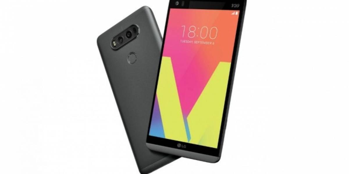 LG presenta el V20, su primer phablet con Android Nougat