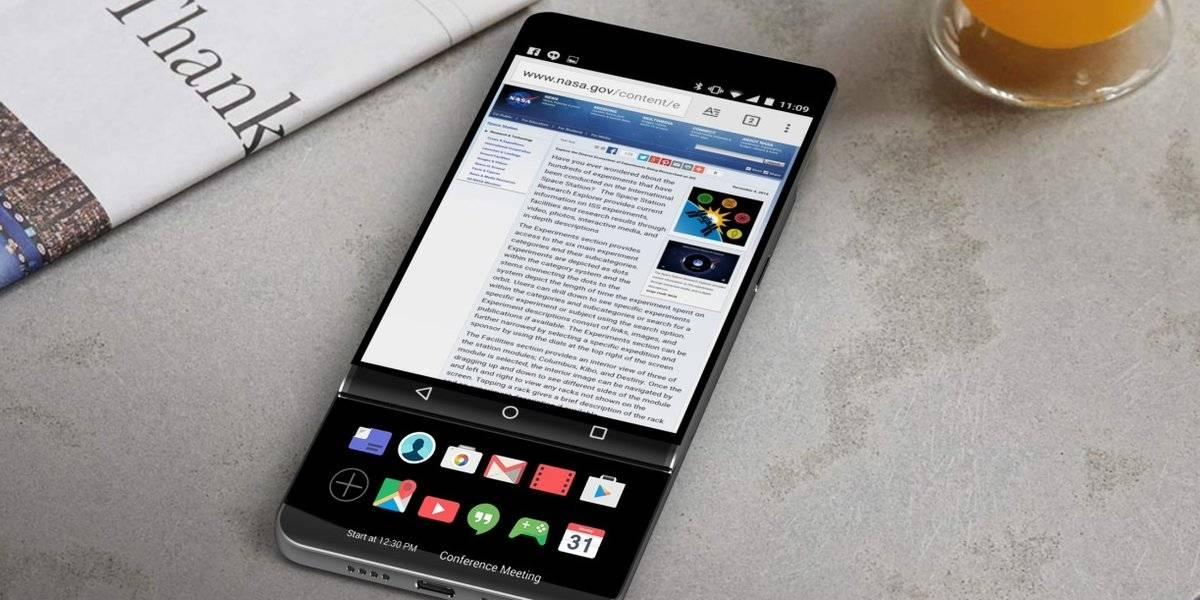 Benchmark vuelve atractivo al LG V30