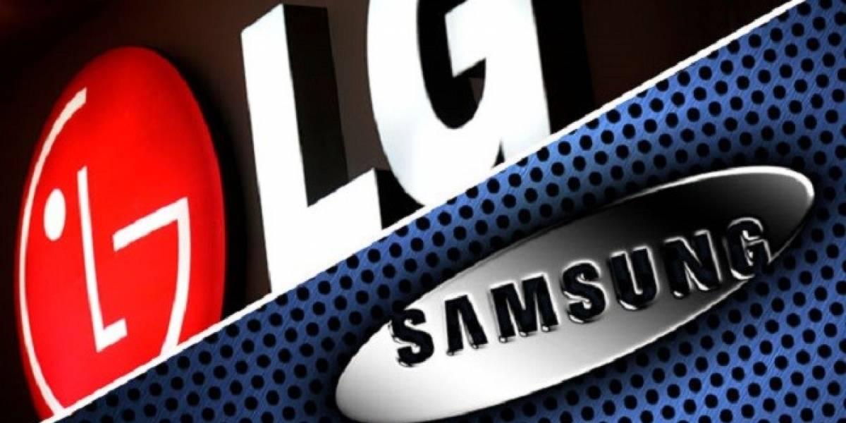 Samsung y LG estarían trabajando en pantallas con los cuatro bordes curvos