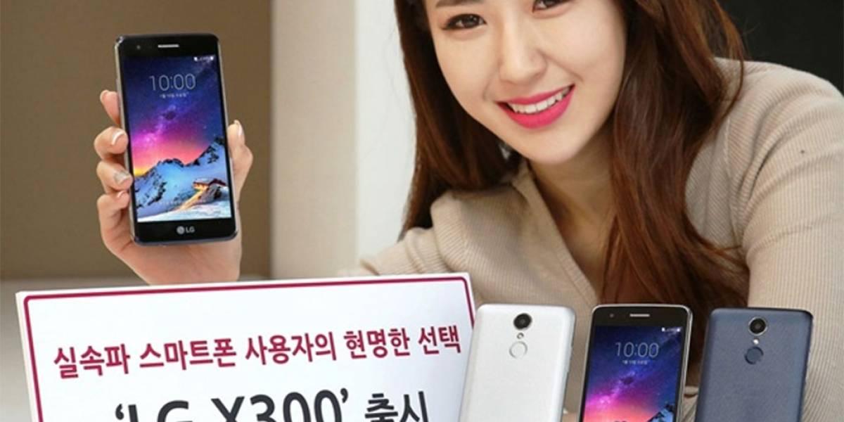 LG anuncia el X300, un gama media de 5 pulgadas