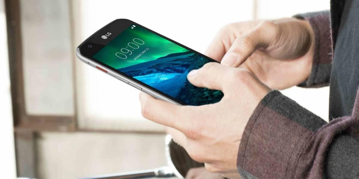 LG X Venture, nuevo smartphone con batería de 4.100 mAh