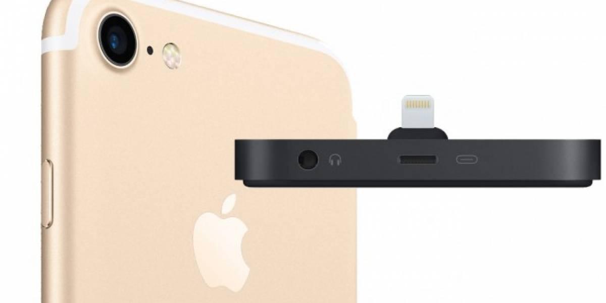 La solución de Apple para cargar tu iPhone 7 y escuchar música a la vez