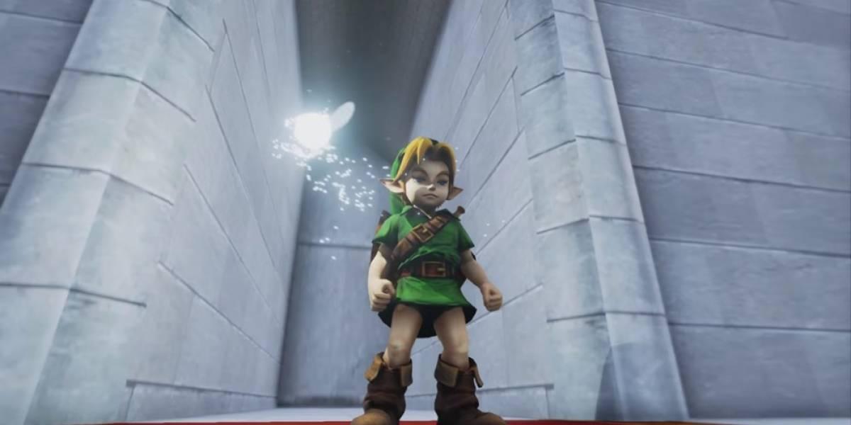 El Templo del Tiempo de Ocarina of Time se puede jugar en Unreal Engine 4