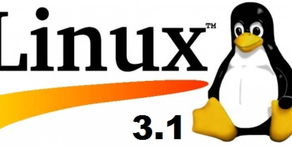 Linux Kernel 3.1 hace su aparición oficial