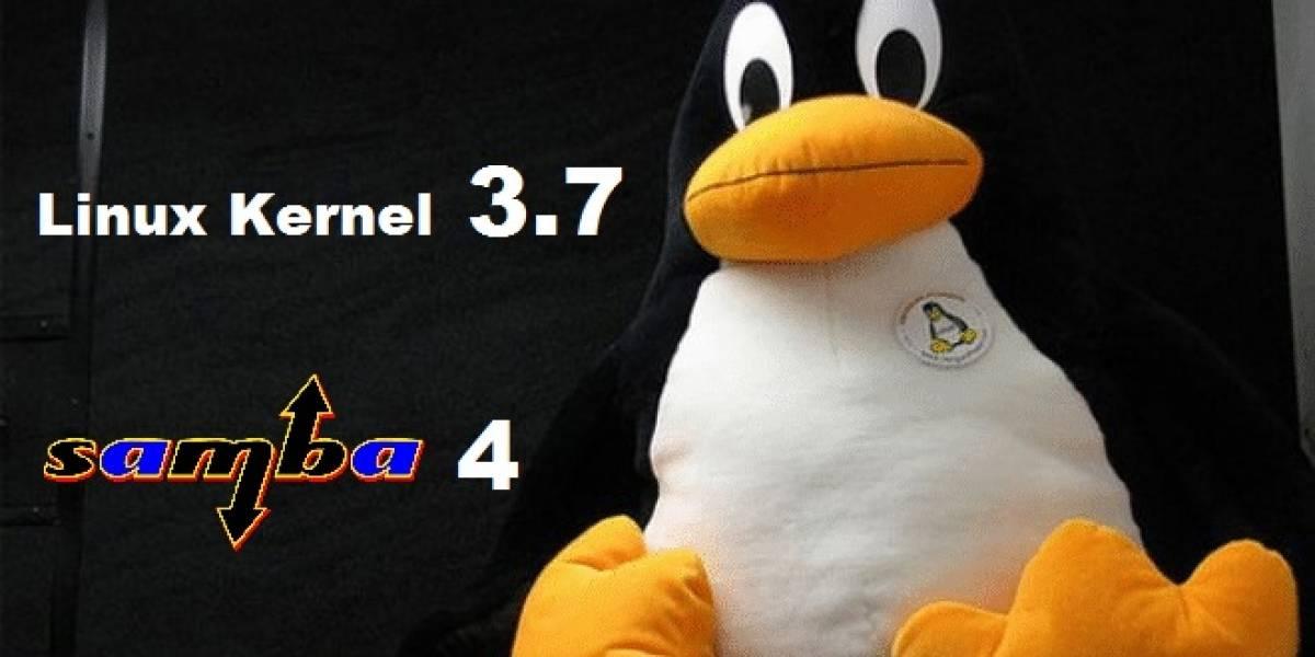 Linux Kernel 3.7 y Samba 4 llegan cargados de novedades