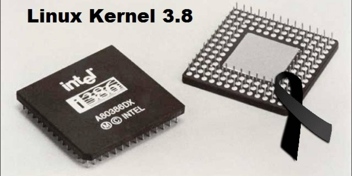 Linux Kernel 3.8 no soportará viejos CPUs Intel 386 (80386 compatibles)
