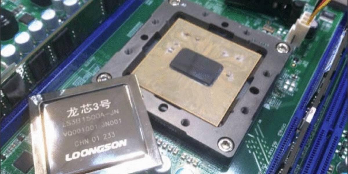 China anuncia sus nuevos microprocesadores Loongson 3B 1500