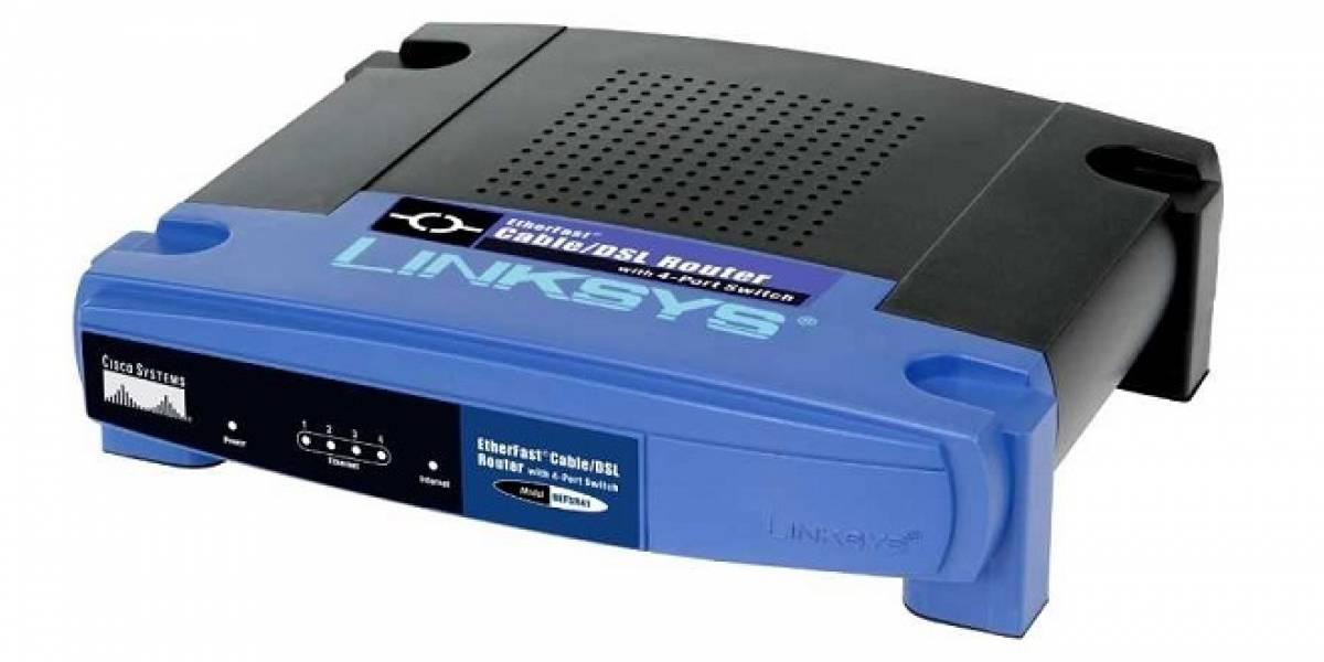 Cisco está buscando compradores para Linksys