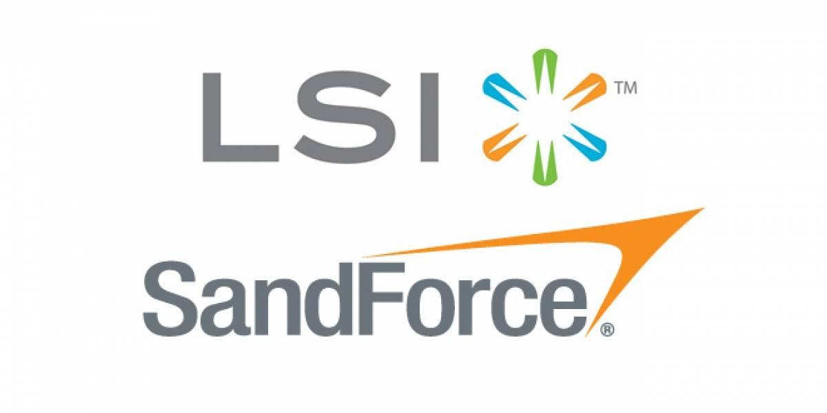 SandForce pasa a ser de LSI por USD$322 millones