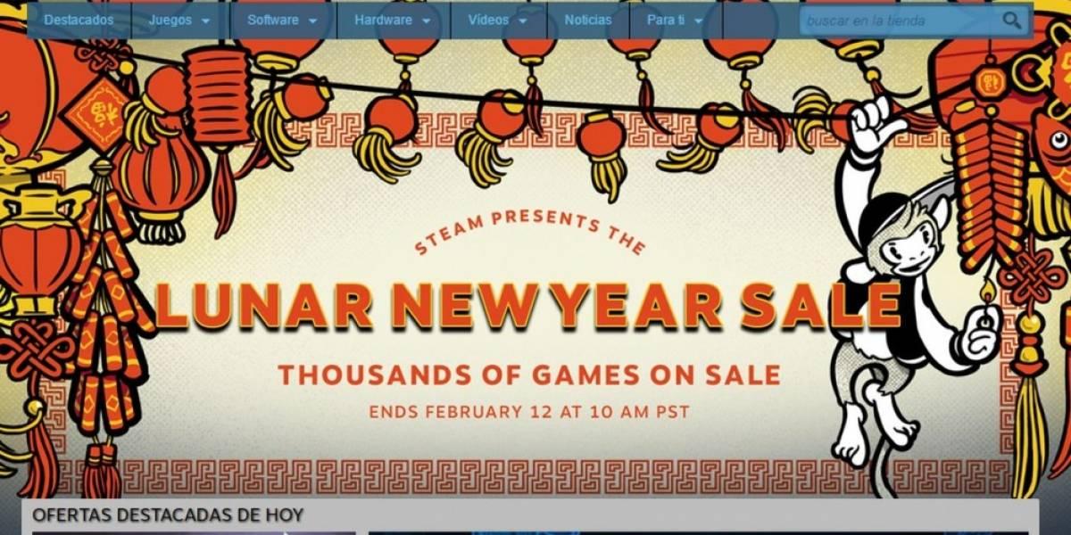Steam celebra el Año Nuevo Lunar con venta especial
