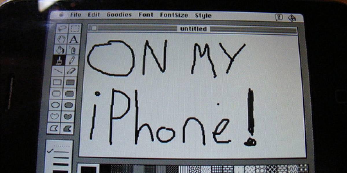 Galería: Mac OS7 corriendo en un iPhone