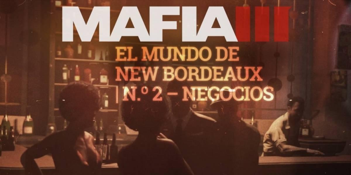 Tráiler de Mafia III nos muestra cómo acabar con los negocios de la mafia