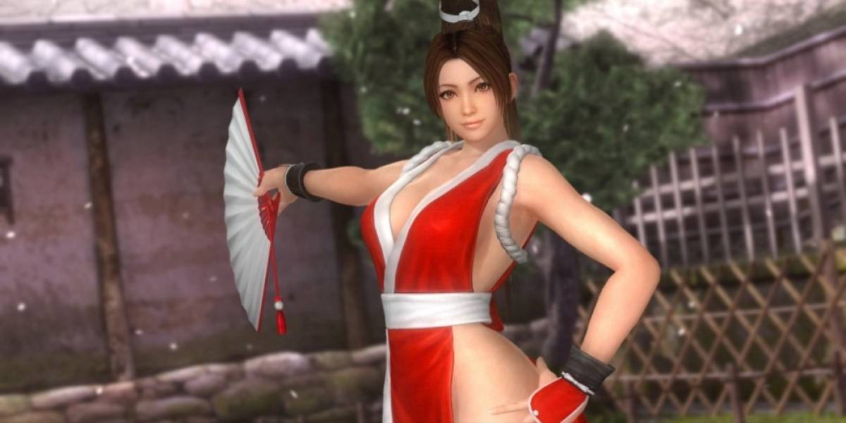 Mai de King of Fighters llegará a Dead or Alive 5: Last Round