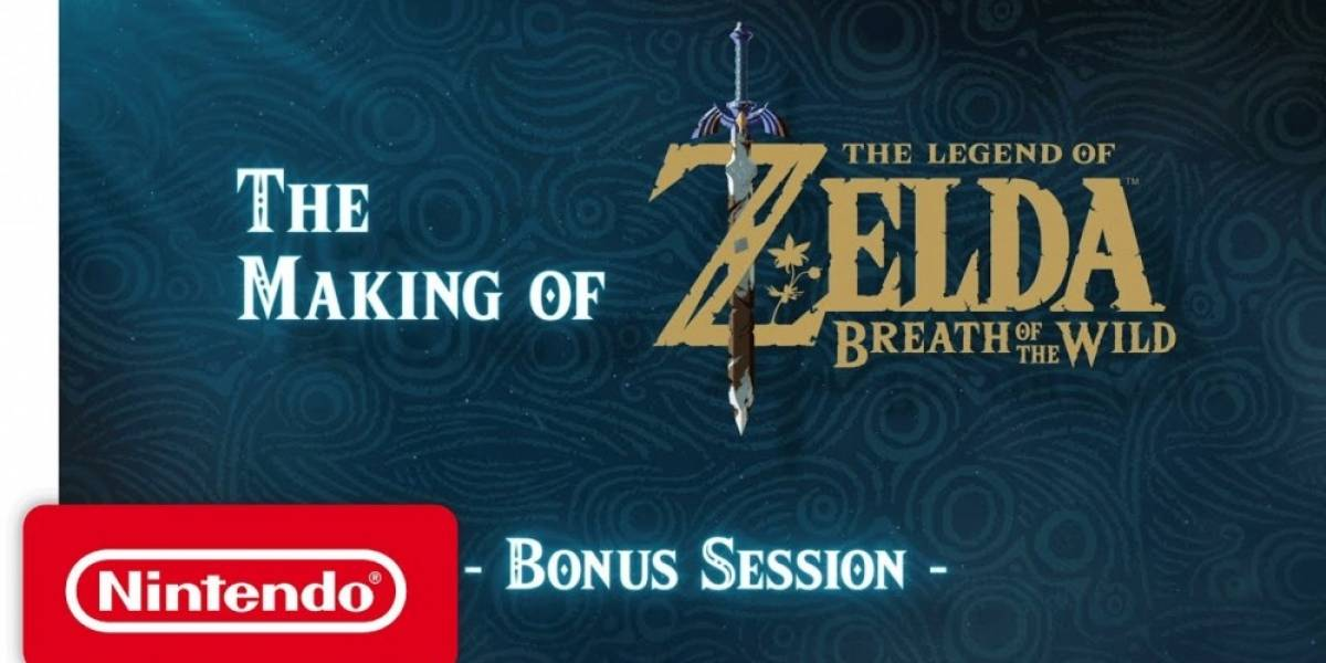 Nintendo lanza bonus del mini-documental de Zelda: Breath of the Wild