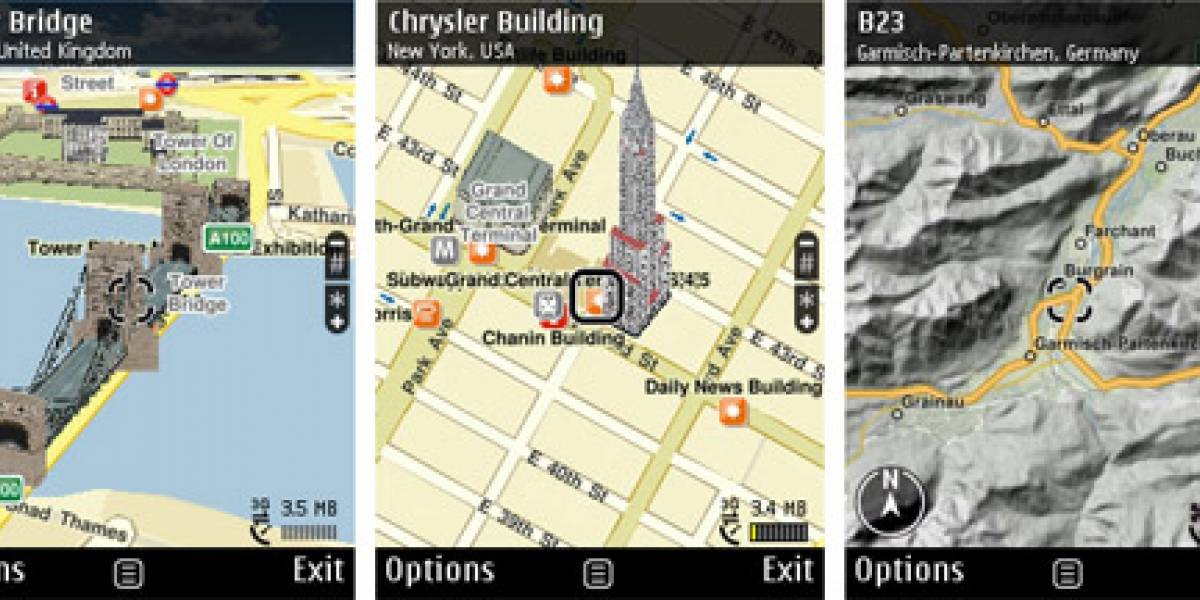 Disponible Nokia Maps 3.0 beta