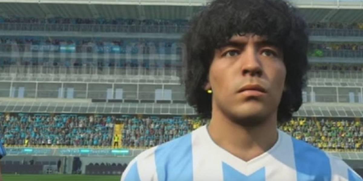 Maradona a Konami: Te vas a comer un juicio millonario