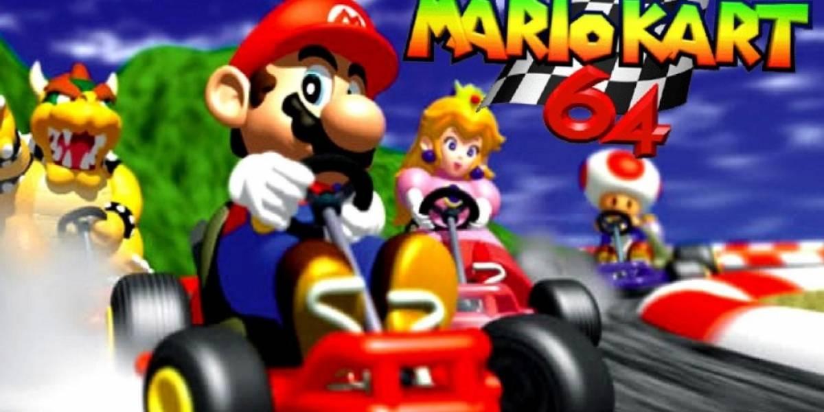 Mario Kart 64 llegará mañana a Wii U