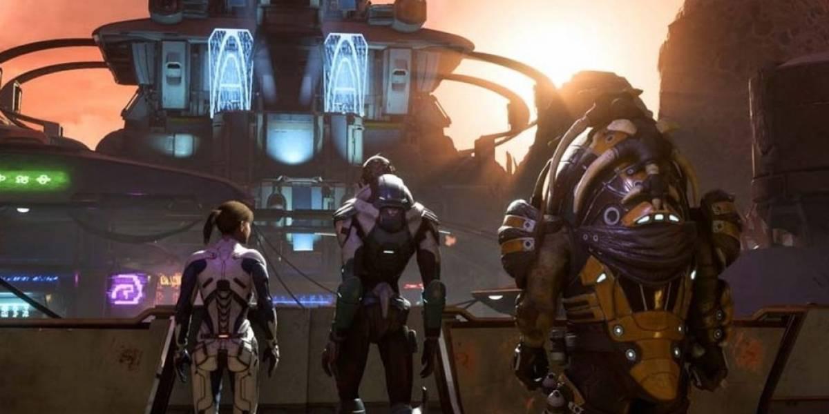 Así es el multijugador de Mass Effect: Andromeda