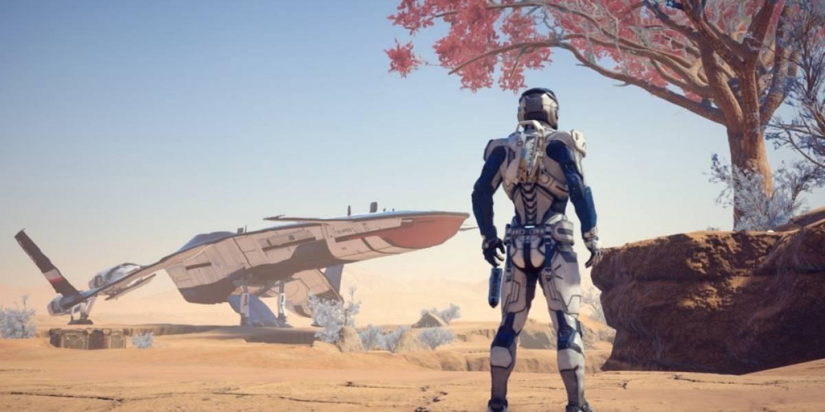 Mass Effect: Andromeda recibe tráiler con jugabilidad en 4K