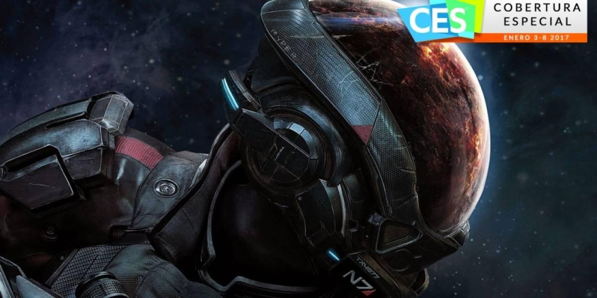 Así se juega Mass Effect: Andromeda #CES 2017