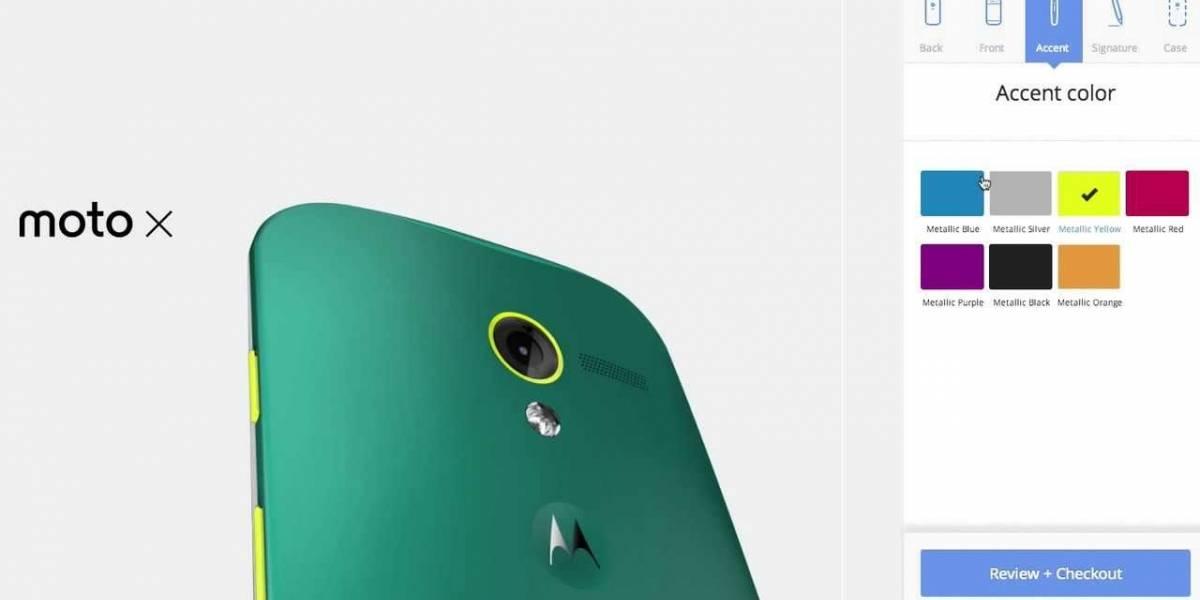 """Motorola registra el dominio """"MotoMaker"""" en distintos lugares de Latinoamérica"""