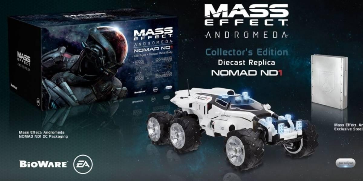 Mass Effect: Andromeda tendrá dos ediciones para coleccionistas, pero no incluirán el juego